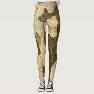 London Plane Tree Bark Leggings