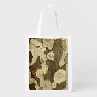 London Plane Tree Bark Reusable Bag