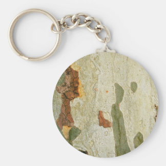 London plane tree wood bark nature plant texture p basic round button keychain