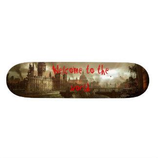 London post apocalypse skateboard decks