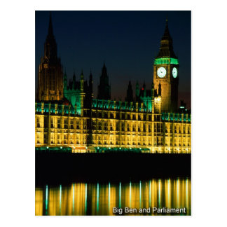 london postcard 03 Big ben