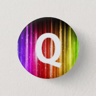London Queers mini badge Q 1 Inch Round Button