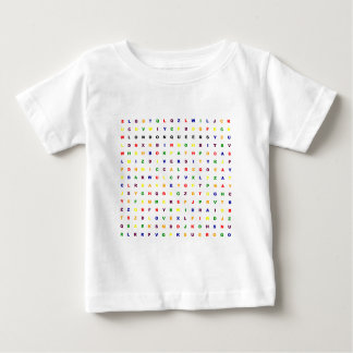 London Queers Wordsearch Baby T-Shirt