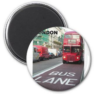London Red Bus (St.K) Magnet