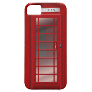 London Red Phone Booth Box iPhone 5 Covers