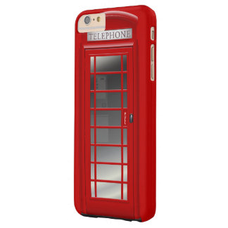 London Red Phone Booth Call Box Barely There iPhone 6 Plus Case