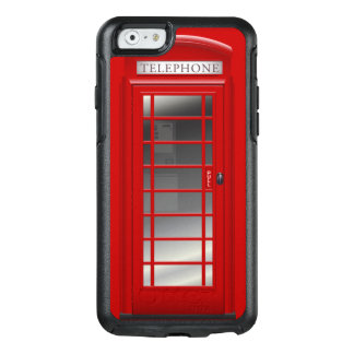London Red Phone Booth Call Box OtterBox iPhone 6/6s Case