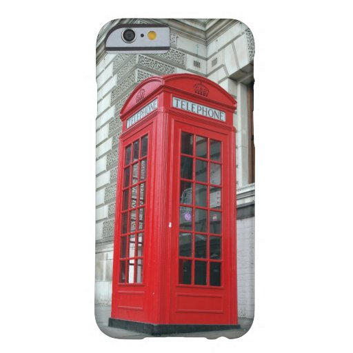London Red Phone Box iPhone 6 Cover iPhone 6 Case
