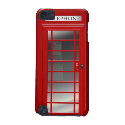 London Red Phone Box iPod Touch 5 Case iPod Touch 5G Covers