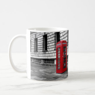 London Red Phone Box Mug