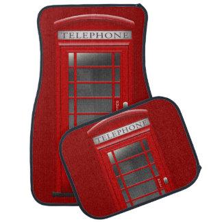 London Red Phone CallBox Car Mats Car Mat