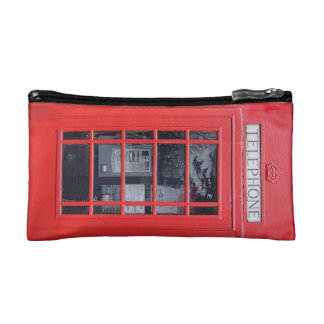 London Red Telephone Box bag Cosmetic Bag