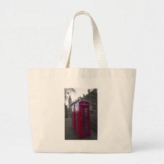 London Red Telephone box Bags