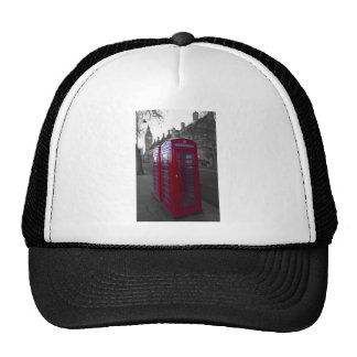 London Red Telephone box Trucker Hat