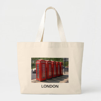 London Red Telephone Boxes Bags