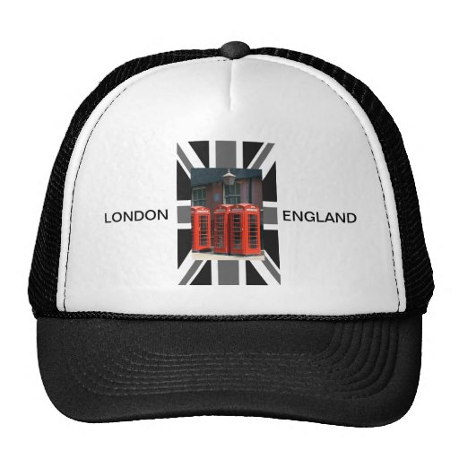 London Red Telephone Boxes Hat