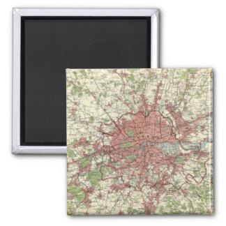 London Region Map Magnets