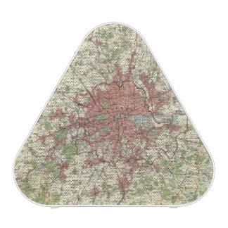 London Region Map Bluetooth Speaker