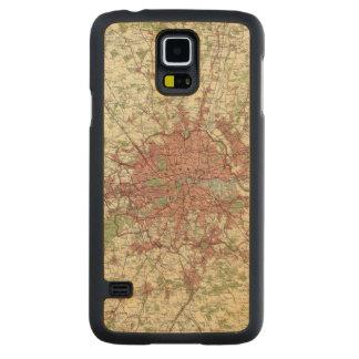 London Region Map Maple Galaxy S5 Slim Case