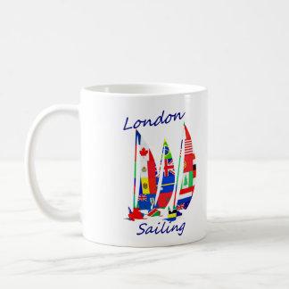 London sailing basic white mug
