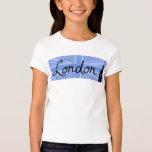 London Script & Union Jack Sky & Sites Shirt