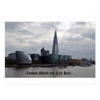 London Shard and City Hall Postcard