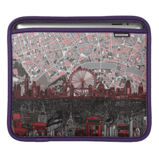 london skyline abstract sleeves for iPads
