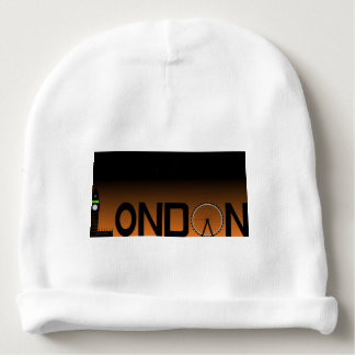 London skyline baby beanie