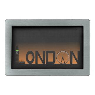 London skyline belt buckle