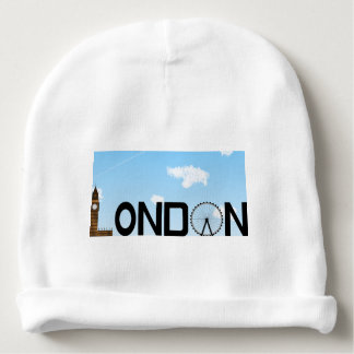 London Skyline Daytime Baby Beanie