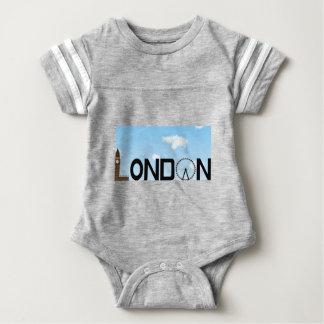 London Skyline Daytime Baby Bodysuit