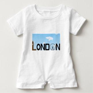 London Skyline Daytime Baby Romper