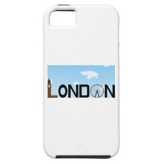 London Skyline Daytime Case For The iPhone 5