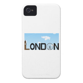 London Skyline Daytime Case-Mate iPhone 4 Case