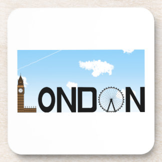 London Skyline Daytime Coaster