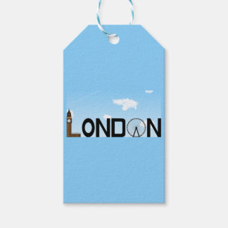 London Skyline Daytime Gift Tags