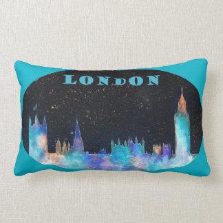 LONDON SKYLINE Design On Oblong Pillow