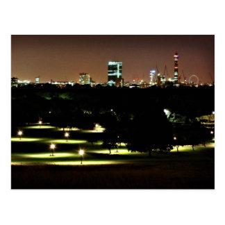 London Skyline from Primrose Hill Postcard