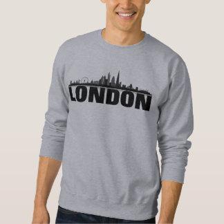 London skyline hood sweaters