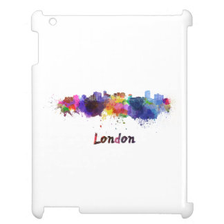 London skyline in watercolor case for the iPad 2 3 4