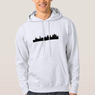 London skyline silhouette cityscape hoodie