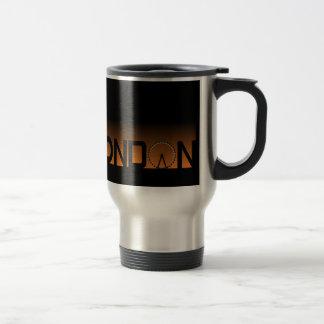 London skyline travel mug