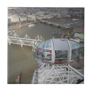 "London Small (4.25"" x 4.25"") Ceramic Photo Tile"