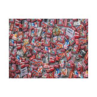 London souvenirs canvas print