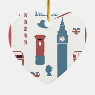 London Special Ceramic Ornament