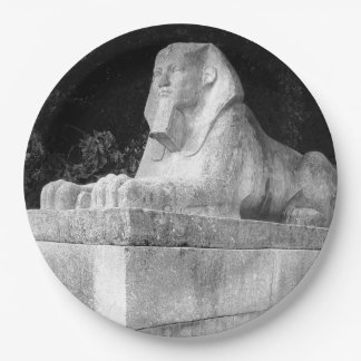 London Sphinx 9 Inch Paper Plate