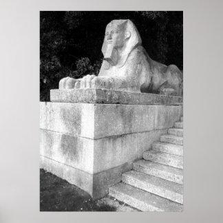 London Sphinx Poster