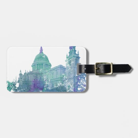 London St. Paul's Cathedral Luggage Tag