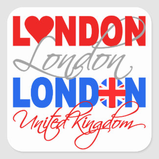London stickers