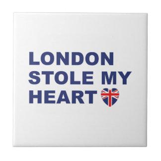 London Stole My Heart Tile